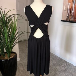 🆕 ANN TAYLOR LOFT crisscross back dress